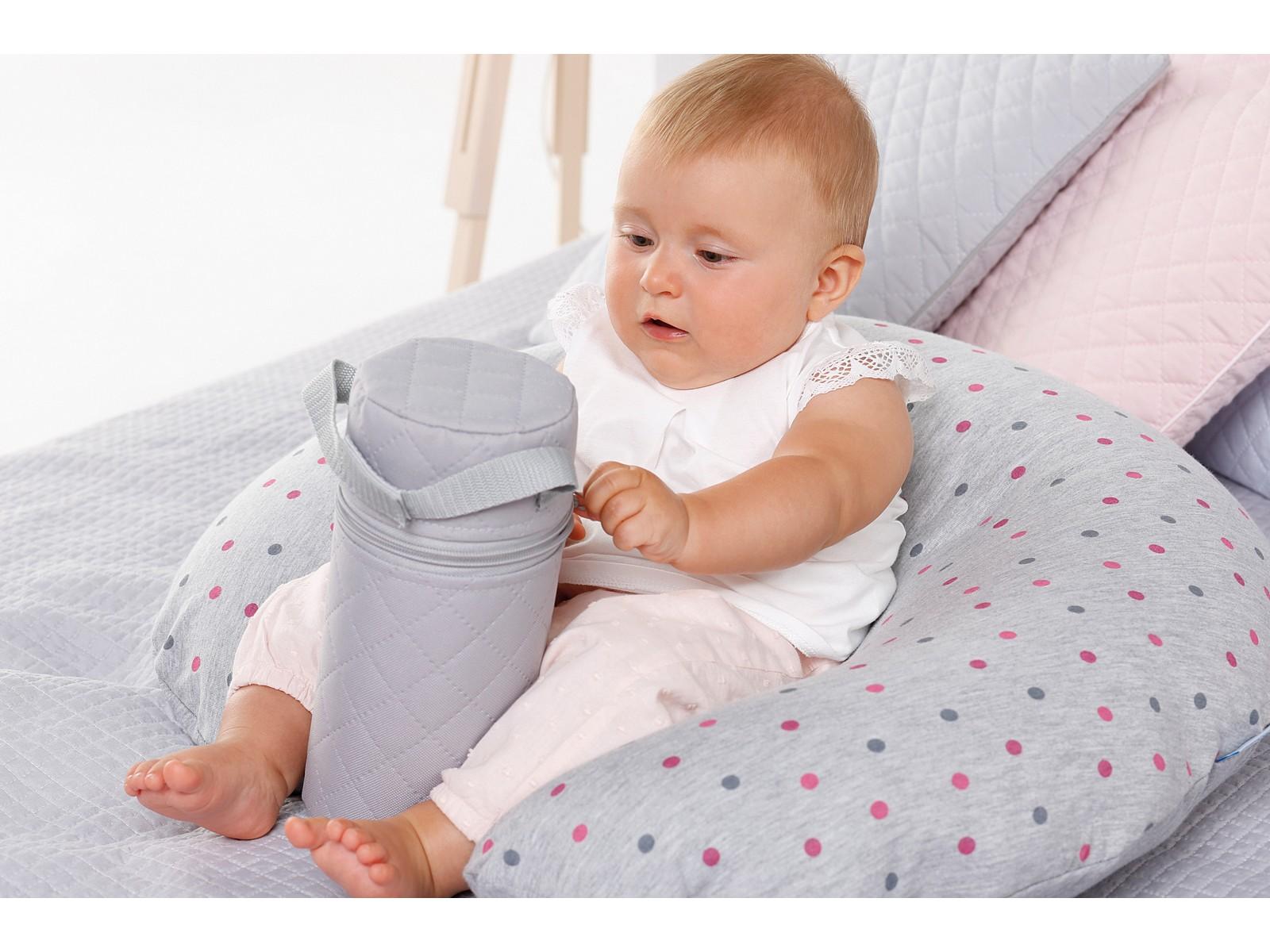 Stillkissen Lagerungskissen Seitenschläferkissen 23cmx22cm NEU Kopfkissen Baby