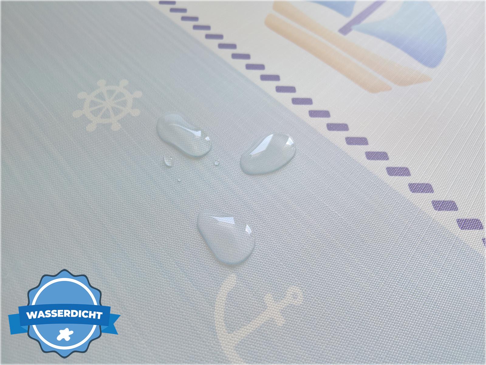 Wickelauflage 50x70 75x70 85x70 abwaschbar PVC soft Wickelunterlage mit Oeko-Tex