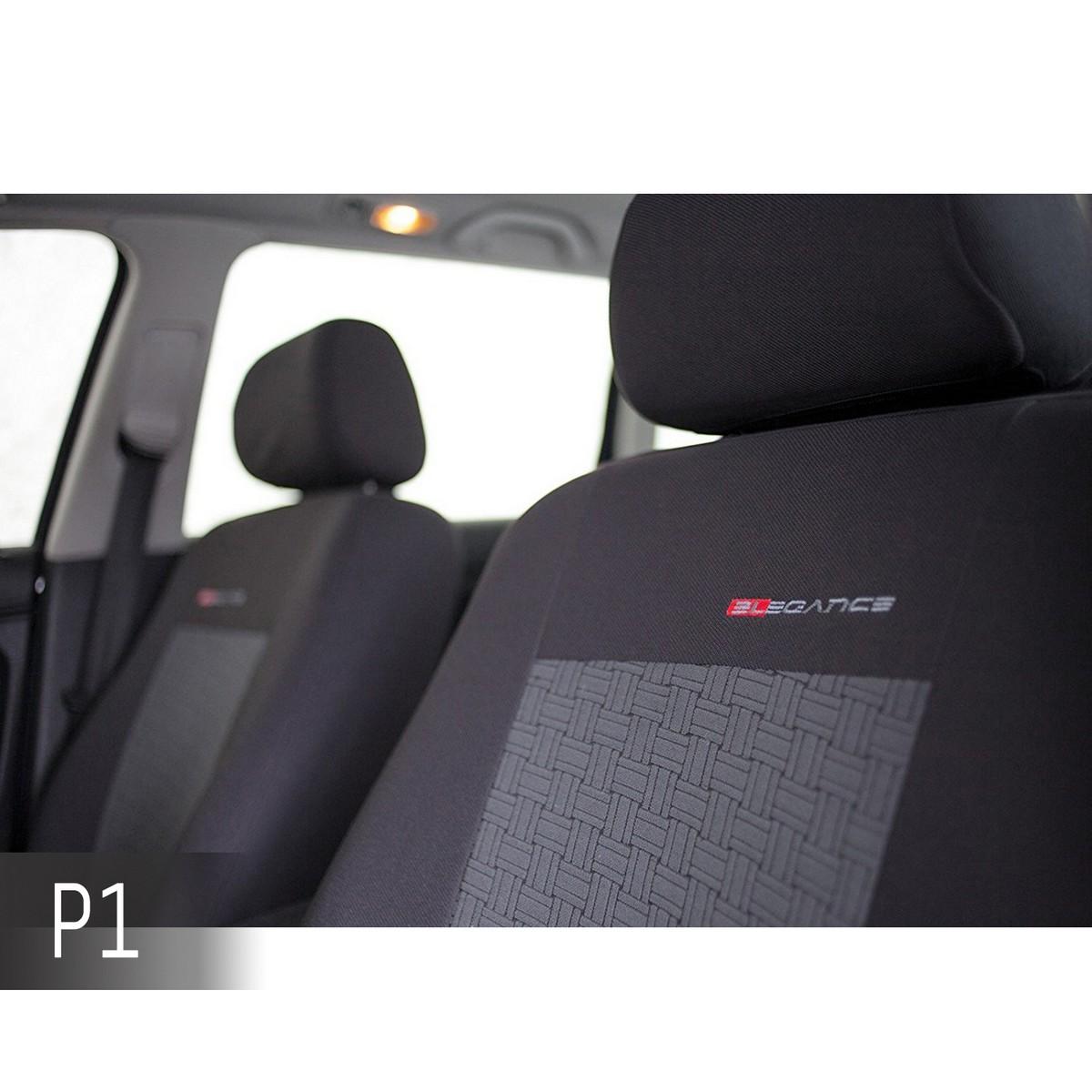 Volkswagen Lupo bleu Universal Sitzbezüge Housse De Siège Auto Housses de protection ELEGANCE