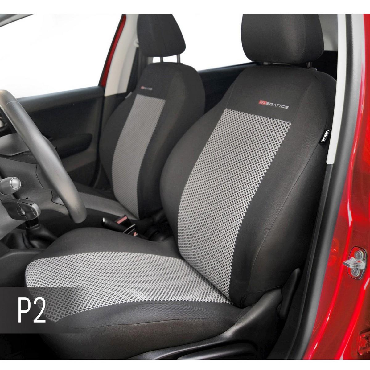 Sitzbezüge Sitzbezug Schonbezüge für Daihatsu Sirion Vordersitze Elegance P1