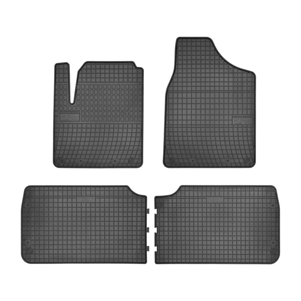 Gummimatten VW Sharan 2 vorne und 1.Reihe hinten Original Qualität
