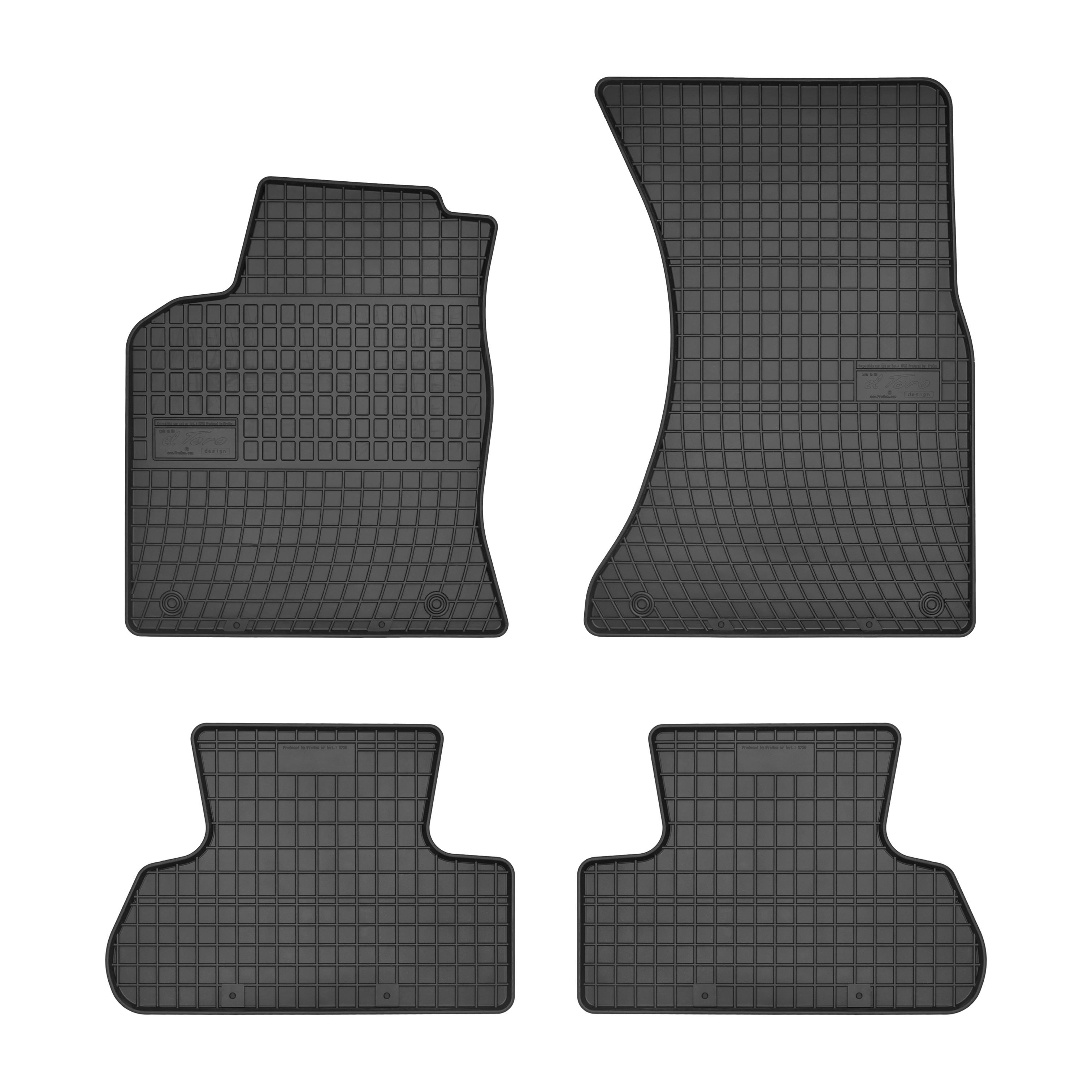 Gummifußmatten vorn Q5 Fussmatten Set Gummimatten Audi Q5