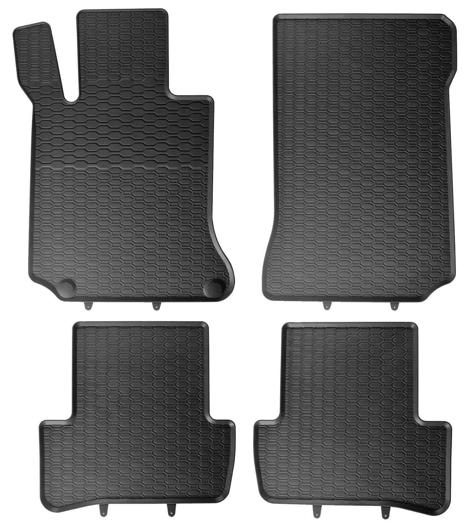 Gummimatten Fußmatten für Mercedes C-Klasse W204 2006-2014 Original Qualität