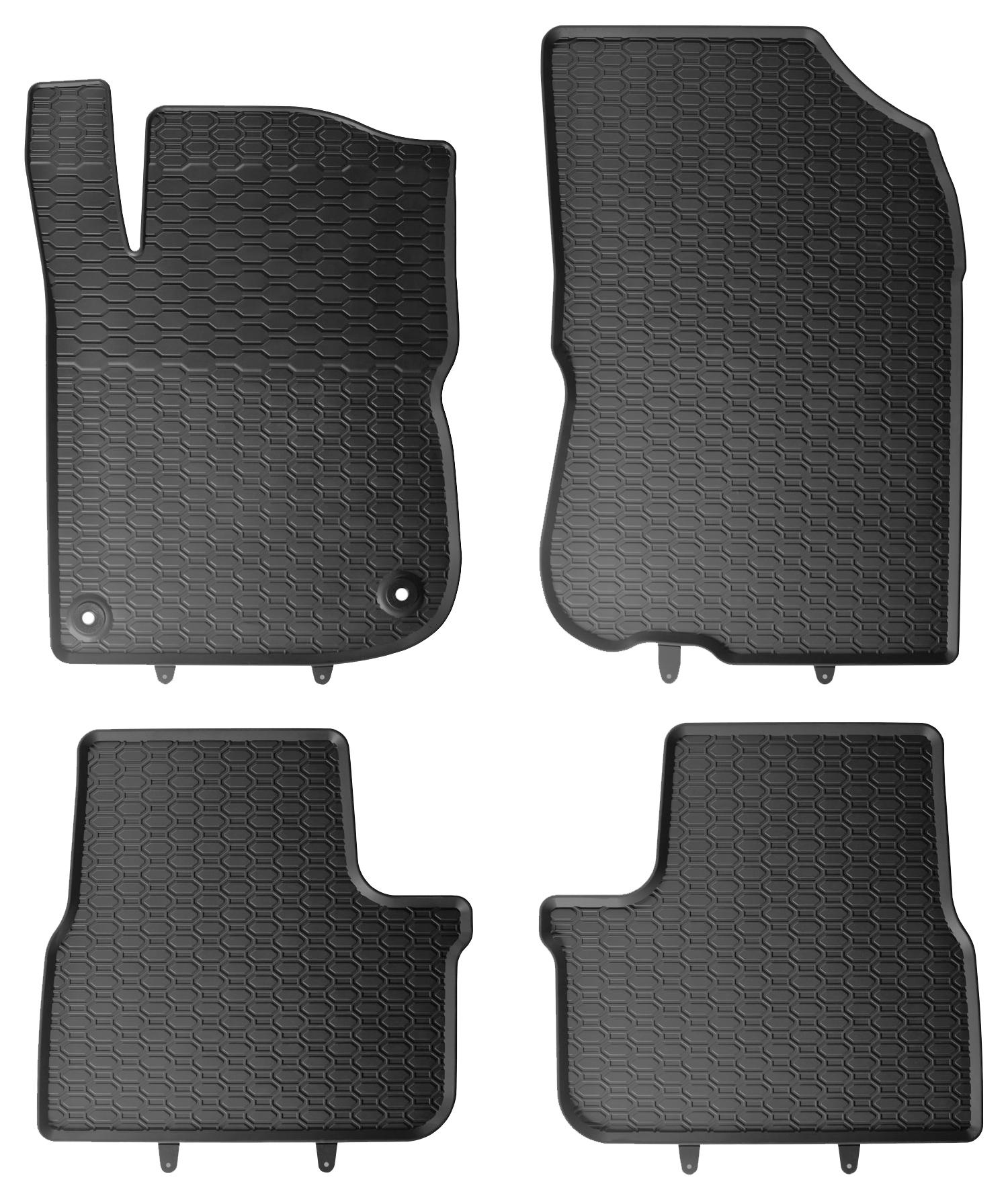 GTI 2012-2019 Original Qualität Gummimatten Gummi Fußmatten für Peugeot 208 A9