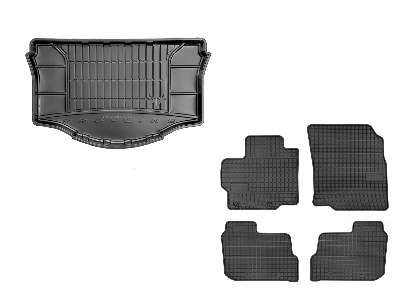 Gummimatten Kofferraumwanne mit Organizer für Toyota Auris 2 II E18 ab 2013