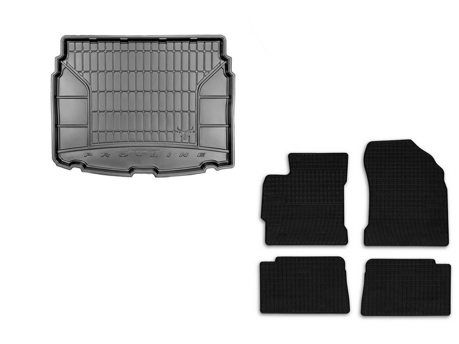 PE Kofferraumwanne SET für Nissan Juke II ab Bj 2014 Gummimatten