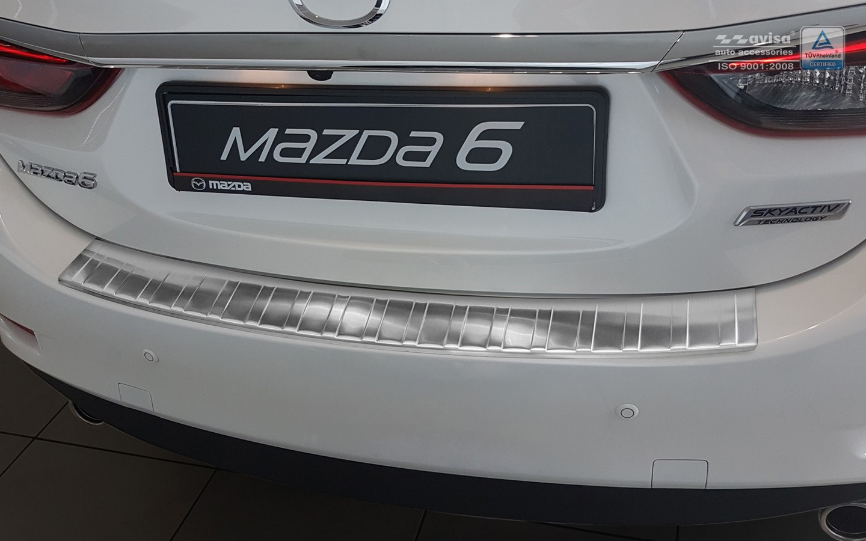 Stoßstangenschutz ABS schwarz für Mazda 6 GJ Kombi 2012