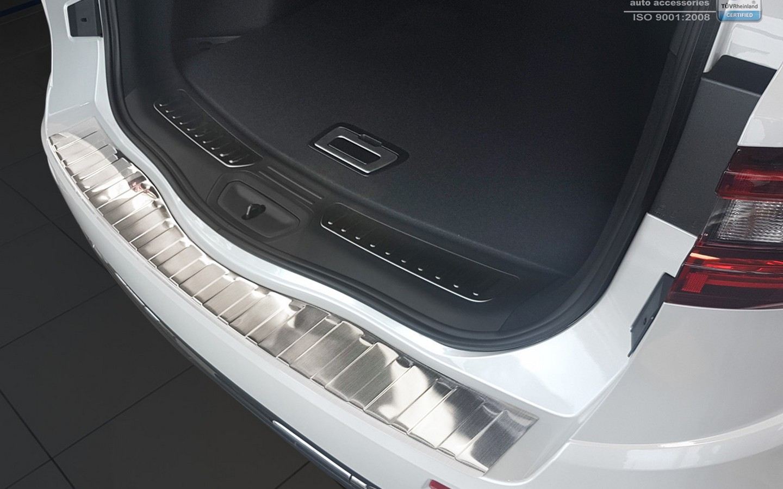 Für Renault Koleos ab 2008 Ladekantenschutz Lack Schutz Folie in Carbon Optik