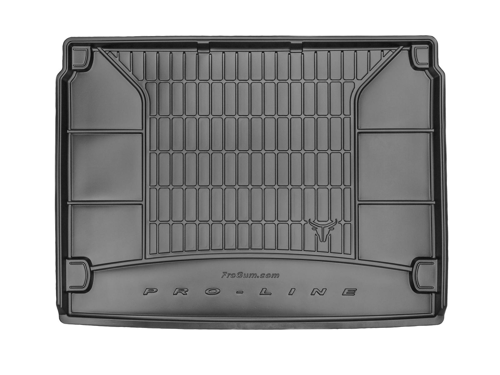 Premium Gummi Kofferraumwanne mit Organizer für Citroen C4 Picasso 2 II ab 2013