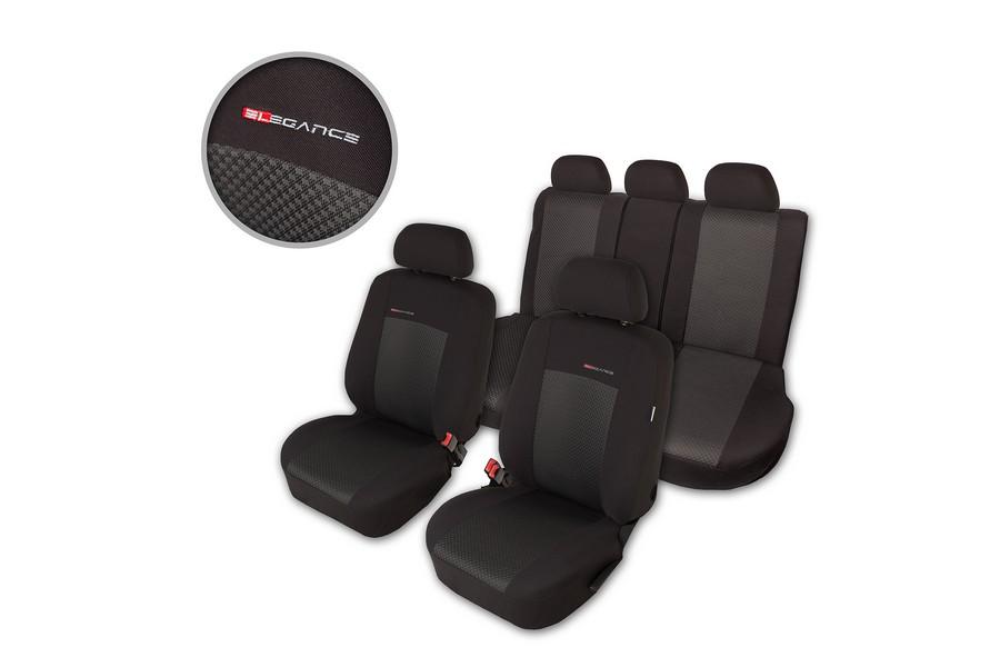 Maß Autositzbezüge Schonbezüge Sitzbezüge für VW Caddy 3 III 2K 2C 2004-2016 P3