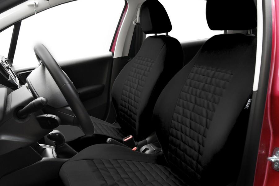 Sitzbezüge Sitzbezug Schonbezüge für VW New Beetle Grau Modern MC-2 Komplettset