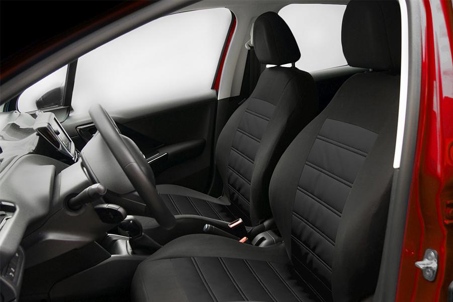 Sitzbezüge Sitzbezug Schonbezüge für BMW 1 Schwarz Modern MG-1 Komplettset