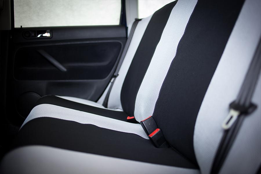 Sitzbezüge rot//schwarz SP DACIA LOGAN