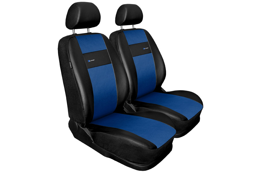 Sitzbezüge blau vorne KOS CHEVROLET AVEO