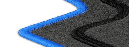 Fußmatten Auto Autoteppich für Nissan Qashqai 2 J11 7 Pers 2013-2018 CASZA0103